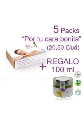 OFERTA: 5 Packs de rutina facial termal + 1 crema de 100 ml