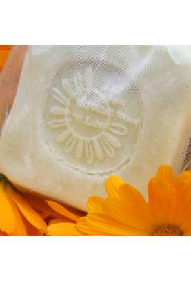 Marigold and olive oil thermal soap bar