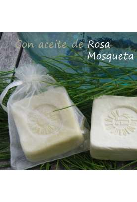 Lifting olive oil soap bar with horsetail and rose hip oil