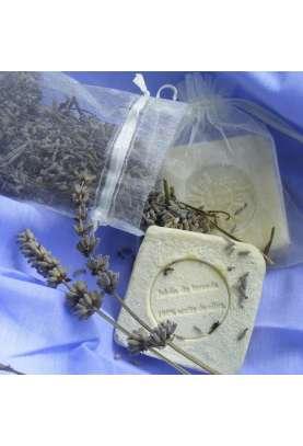 Jabon natural termal de lavanda y aceite de oliva