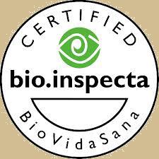 Certificado por BIO Inspecta